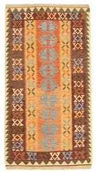 Kilim Afghan Old style carpet ABCL748