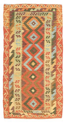 Kilim Afghan Old style carpet ABCL660