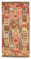 Kelim Afghan Old style matta ABCL606