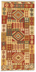Kilim Afghan Old style carpet ABCL617