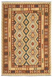 Kilim Afghan Old style carpet ABCL1149