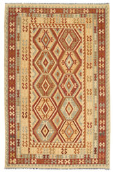 Alfombra Kilim Afghan Old style ABCL1145
