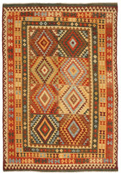 Tapis Kilim Afghan Old style ABCL1143