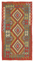 Kilim Afghan Old style carpet ABCL1091
