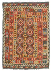 Alfombra Kilim Afghan Old style ABCL1055