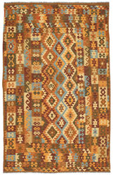 Kilim Afghan Old style carpet ABCL1150