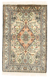 Kashmir pure silk carpet XVZC14