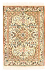 Kashmir pure silk carpet XVZC10