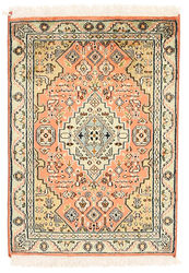 Kashmir pure silk carpet XVZC5