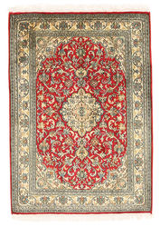 Kashmir pure silk carpet XVZC96