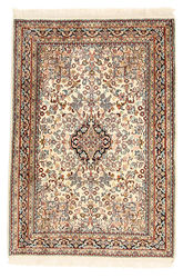 Kashmir pure silk carpet XVZC113