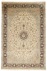 Kashmir pure silk carpet XVZC453