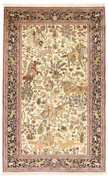 Kashmir pure silk pictorial carpet XVZC334