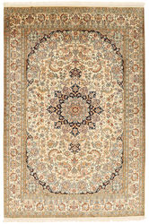 Kashmir pure silk carpet XVZC346