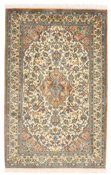 Kashmir pure silk carpet XVZC171