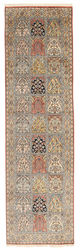 Kashmir pure silk carpet XVZC410