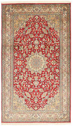 Kashmir pure silk carpet XVZC268
