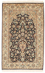 Kashmir pure silk carpet XVZC125