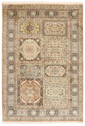 Kashmir pure silk carpet XVZC351