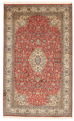 Kashmir pure silk carpet XVZC262