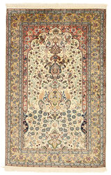 Kashmir pure silk carpet XVZC257