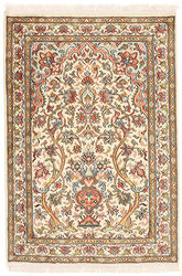 Kashmir pure silk carpet XVZC116
