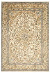 Kashmir pure silk carpet XVZC476