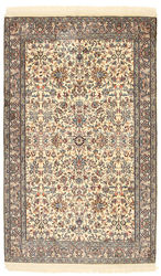 Kashmir pure silk carpet XVZC193