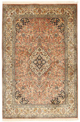 Kashmir pure silk carpet XVZC303