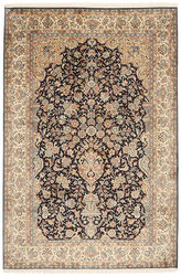 Kashmir pure silk carpet XVZC370