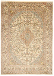 Kashmir pure silk carpet XVZC514