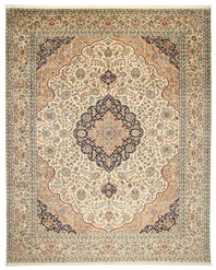 Kashmir pure silk carpet XVZC531