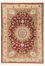 Qum silk signed: Razavi carpet XVZH50
