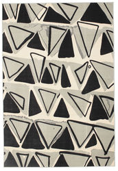 Triangle Dance - Light Grey carpet CVD12237
