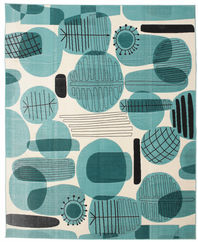 Blue Water and Line rug CVD12367