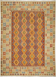 Kilim Afghan Old style carpet ABCO904