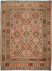 Alfombra Kilim Afghan Old style ABCO918