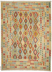 Kilim Afghan Old style carpet ABCO923