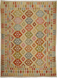 Kilim Afghan Old style carpet ABCO943