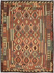 Kilim Afghan Old style carpet ABCO948