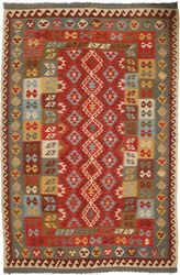 Kilim Afghan Old style carpet ABCO1766