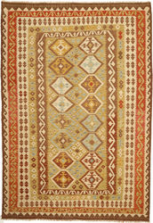 Kilim Afghan Old style carpet ABCO1773