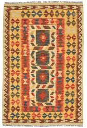 Kilim Afghan Old style carpet ABCO1783