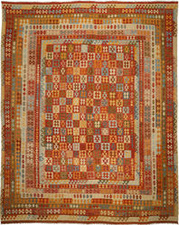 Alfombra Kilim Afghan Old style ABCO812