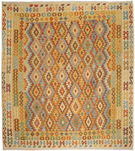 Alfombra Kilim Afghan Old style ABCO831