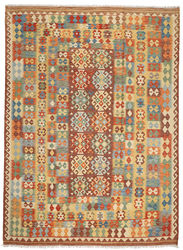 Kilim Afghan Old style carpet ABCO300