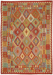 Kilim Afghan Old style carpet ABCO314