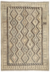 Kilim Afghan Old style carpet ABCO6