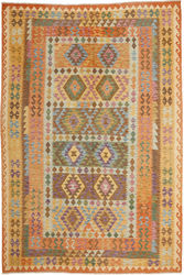 Kilim Afghan Old style carpet ABCO632