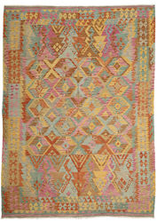Kilim Afghan Old style carpet ABCO544